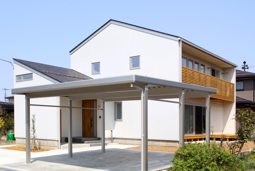 春日新田の家